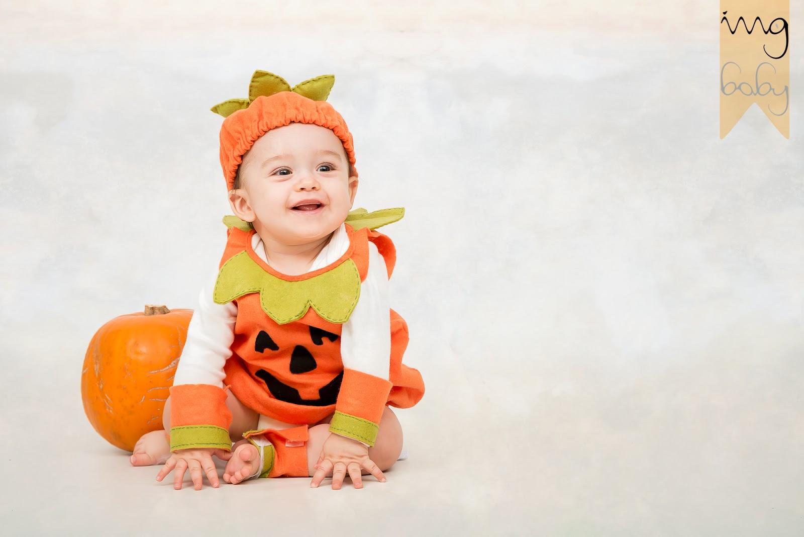 Fotografía de Halloween para bebés en Granada