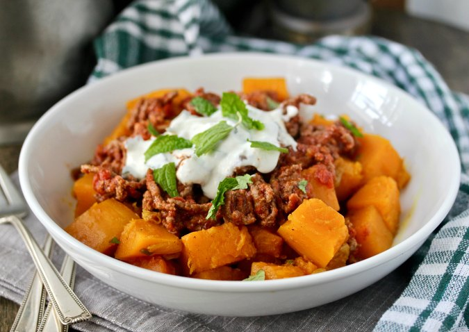 Afghan Style Pumpkin with Beef