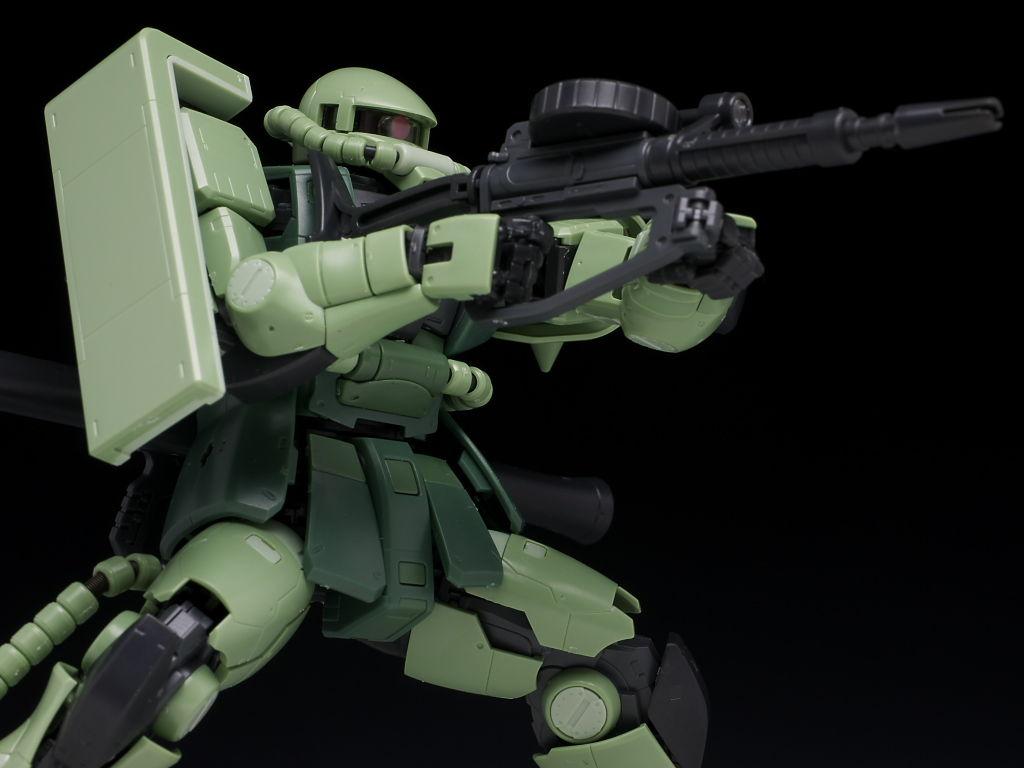 RG MS-06F Zaku II by Hacchaka ~ Toys and Hobbies