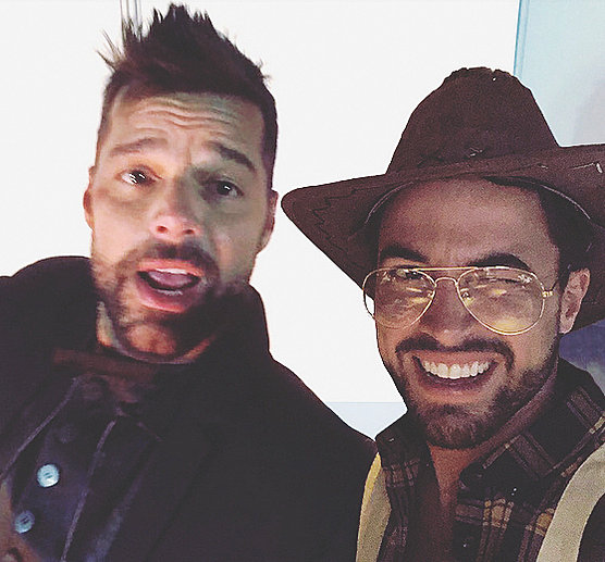 Ricky Martin y Fernando Cristino juntos en una exótica fiesta de cumpleaños en Marruecos