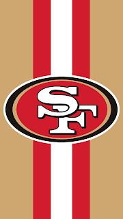 Wallpaper do San Francisco 49ers red para celular Android e Iphone de gratis