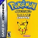 Pokemon Adventure - Yellow chapter