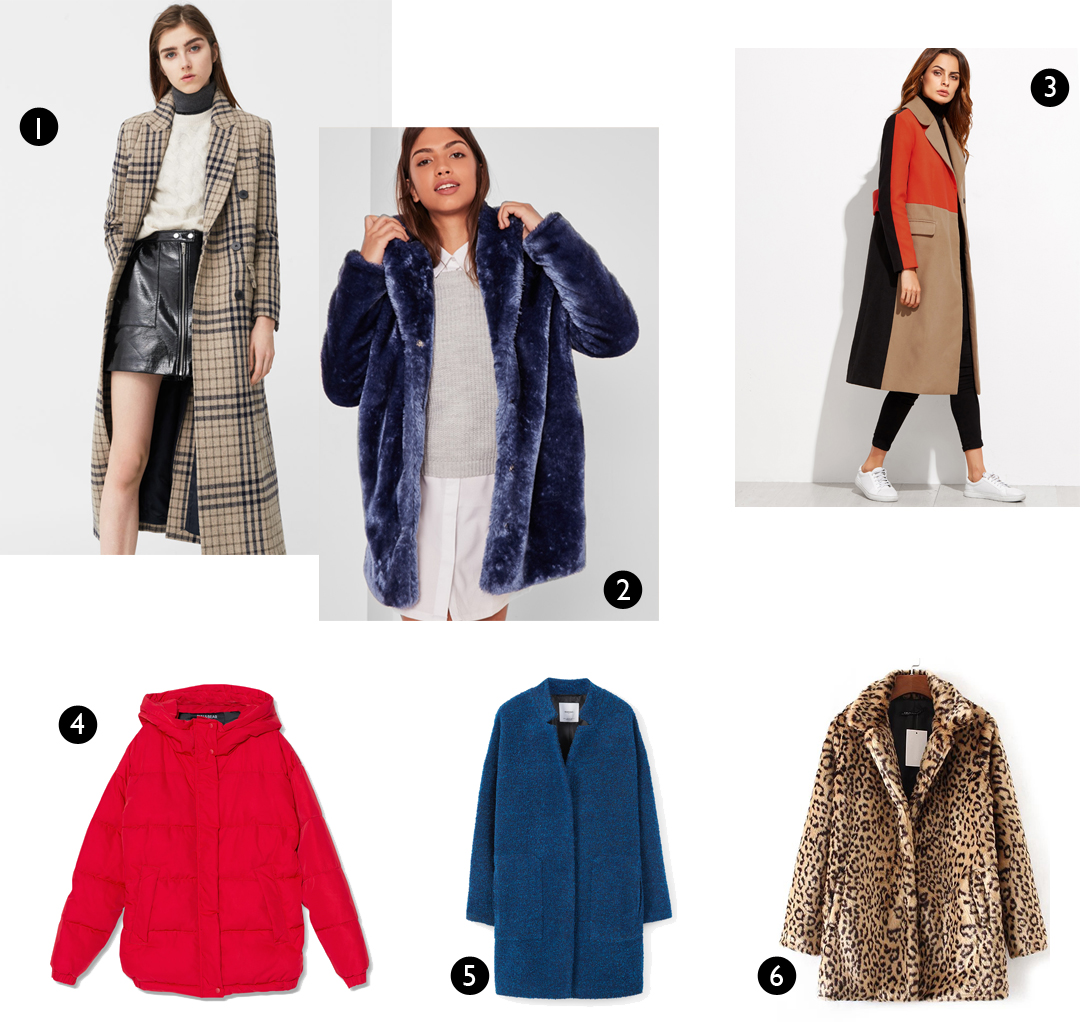 Winter coats, inspiration, jackets, puffer, long coat, faux fur, leopard, fashion blogger, top