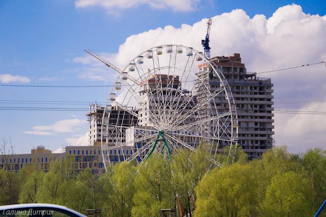 Колесо обозрения Казань