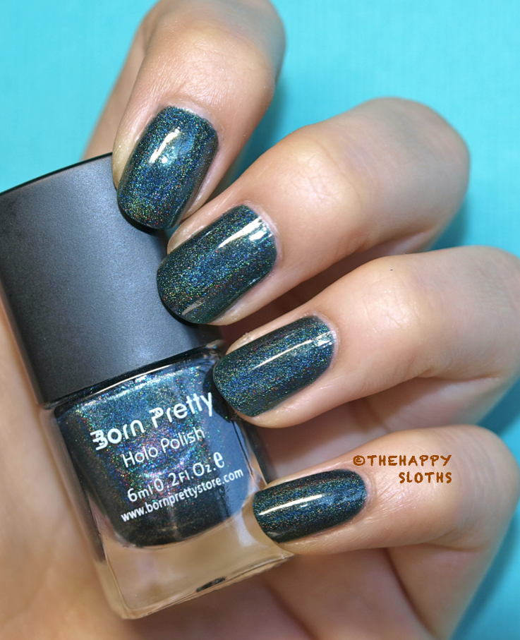 Born Pretty Store Holographic Nail Polish in 12 Review