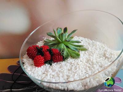 malinki z koralików