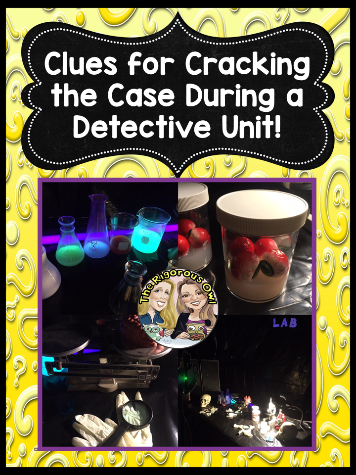 Detective Mystery Unit Made Easy! - The Rigorous Owl
