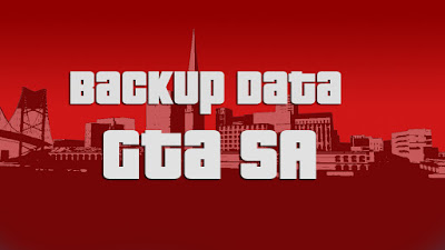 Backup Data GTA San Andreas