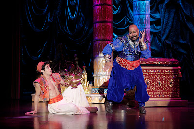 Image result for aladdin genie broadway