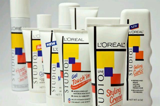 ... dos produtos Studio Line da L'óreal