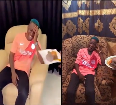 Ikorodu Bois Recreate Zlatan Ibile Refusing To Eat Amala After Liverpool Defeated Barca