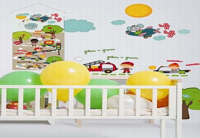 idee peinture chambre enfant maison design. Black Bedroom Furniture Sets. Home Design Ideas