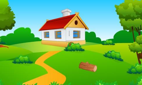 Mushroom House Lion Escap…