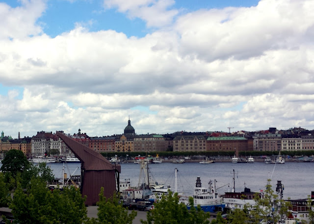 View from Moderna Museet, Skeppsholmen, Stockholm  |  Strolling in the sunshine, finally on afeathery*nest  |  http://afeatherynest.com