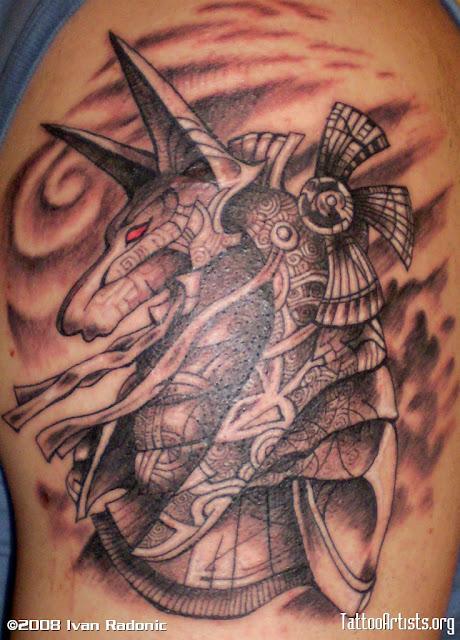 Tremendo Egipcio, O Projeto Da Tatuagem