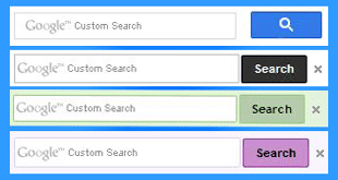 Google-Custom-Search-Box