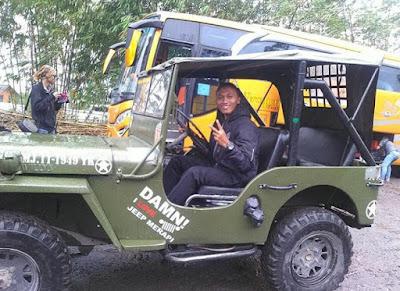 Paket Wisata Jogja Adventure Trail Merapi Lava Tour.