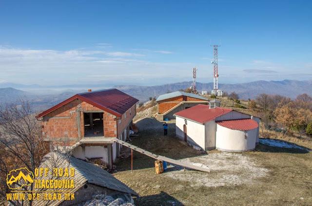 "St. Pantelejmon monastery - ""Pandele"" peak near Polchishte village, Mariovo region, Macedonia"