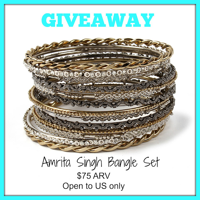 AMRITA SINGH, FASHION, GIVEAWAY, JEWELRY, REVIEW, jewelry giveaway, fashion freebie
