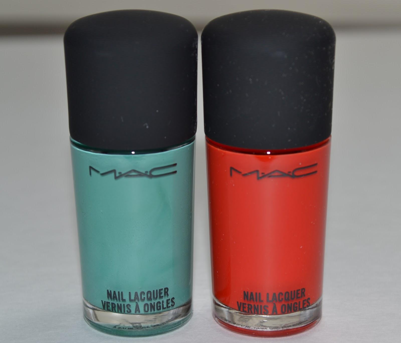 Aquaheart: MAC Cosmetics Cook MAC Collection Nail Lacquers (2 Shades ...