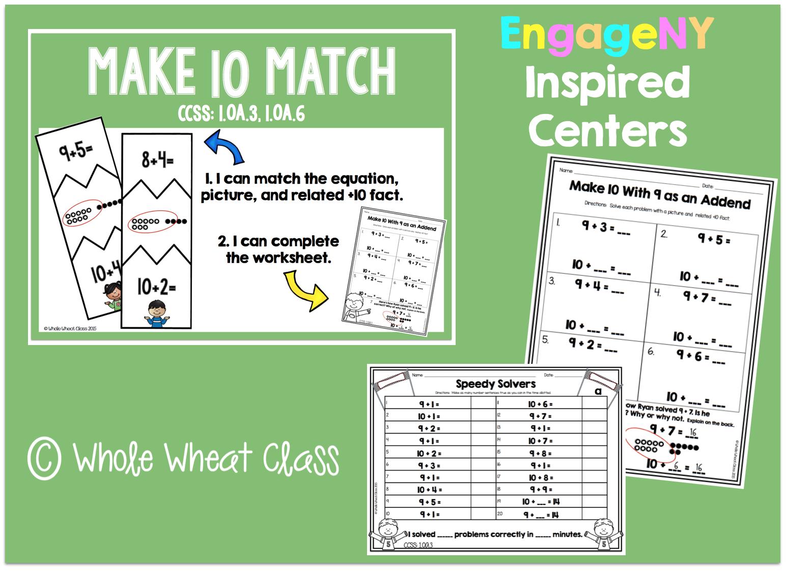 Making Groups Of Ten Worksheet