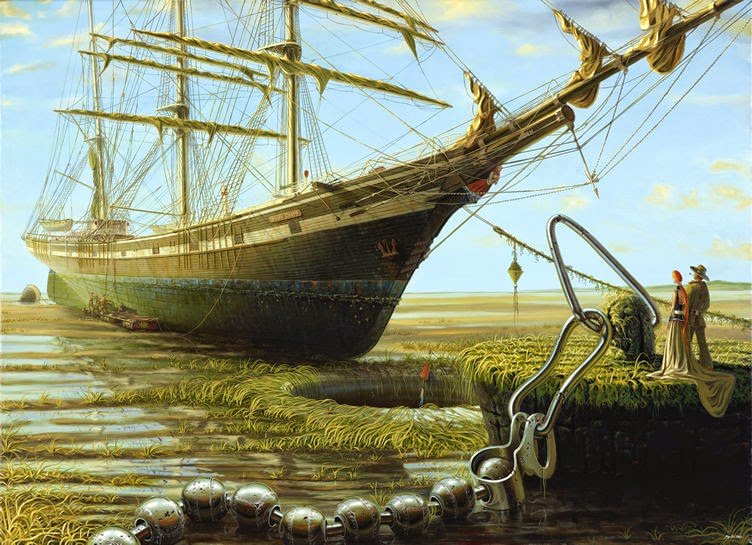01-Jürgen-Geier-Ships-and-Maritime-Surreal-Paintings-www-designstack-co