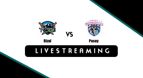 Livestream List: Rizal vs Pasay June 28, 2018 MPBL Anta Datu Cup