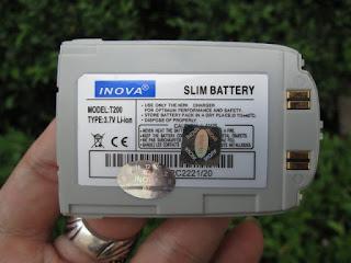 Baterai Hape Jadul Samsung T200 Barang Langka
