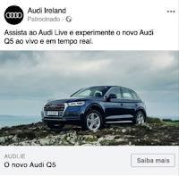 anúncio formato de imagem única do facebook
