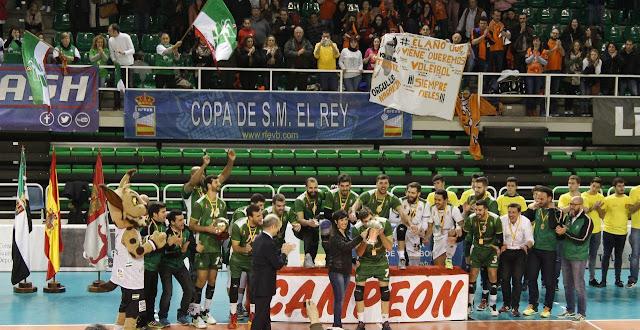 VOLEIBOL - Copa del Rey 2016 (Cáceres): Unicaja Almería conquista su décima Copa y se toma la revancha del año pasado ante CAI Teruel