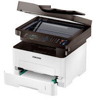 Thanks to the Samsung Xpress M2885FW Printer enables you to print on different types of paper sizes or documents. This compact size printer can handle paper sizes ranging from 60 to 220 grams per square meter (gsm).