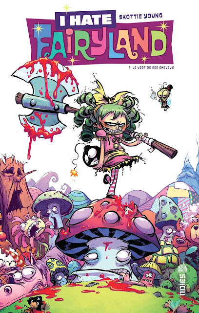 L'Agenda Mensuel - Février 2017 Livre I Hate Fairyland Comics