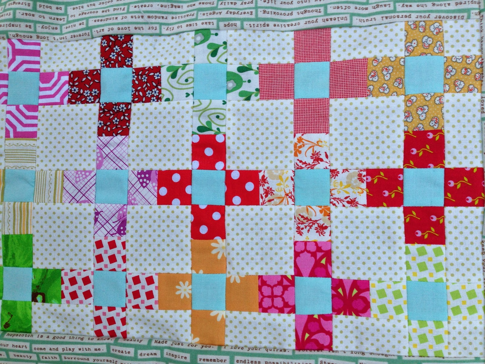 dream quilt create: Scrappy Summer Sew Along - Sweet and ...