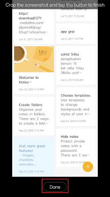 Cara Screenshot Panjang di Hp Xiaomi Dengan Mudah Tanpa Aplikasi