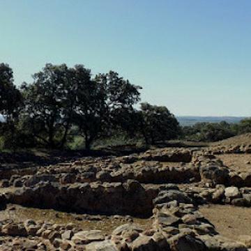 vista de los restos arqueologicos