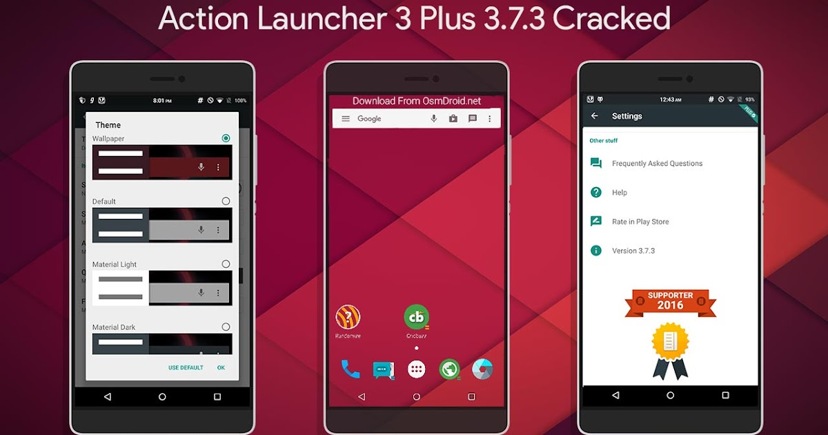 Action Launcher 3 Plus 3 7 3 Donate Cracked Pro apk - Cyber