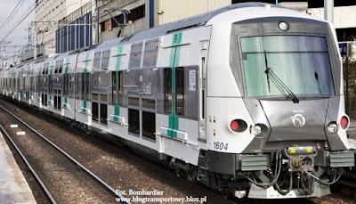 Pociąg MI09 dla paryskiego RATP