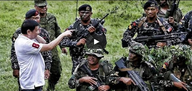 IN VIDEO: Pres.Duterte Sumabog Sa Galit Ipinag Utos Na Bombahin Ang Abu Sayaff
