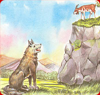 Indonesian English Short Stories A Wolf A Goat Story Indonesian