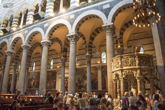 Catedral de Pisa na Itália
