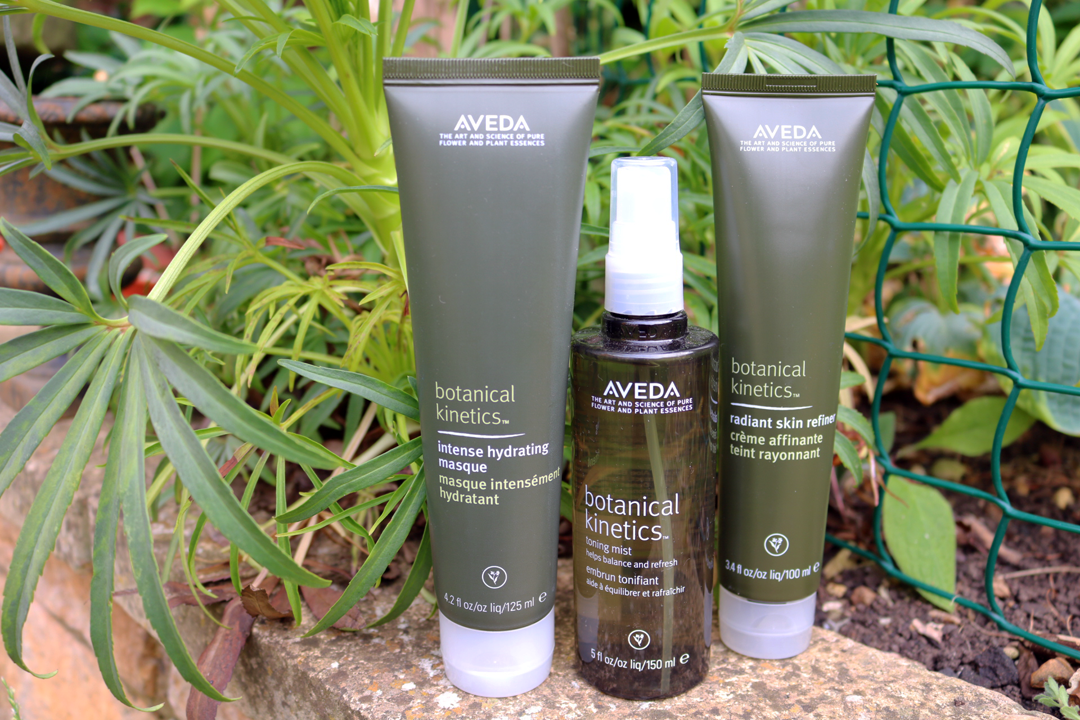 Aveda Botanical Kinetics Intense Hydrating Masque, Toning Mist & Radiant Skin Refiner