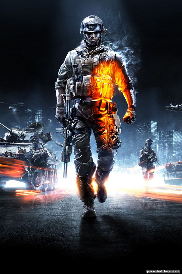Battlefield 3 iPhone Wallpaper HD