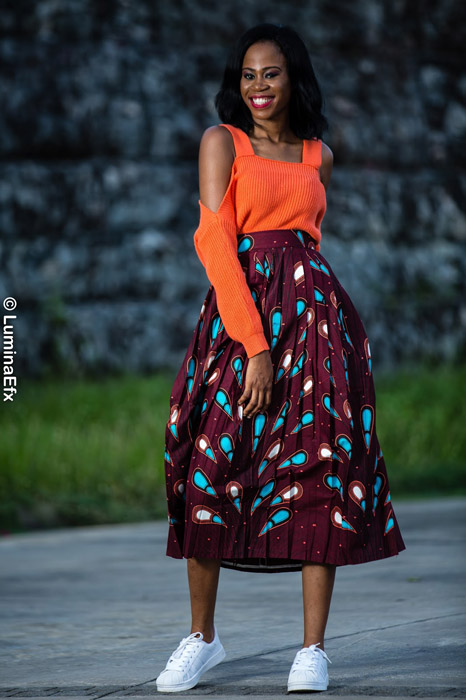 African-Pleated-Skirts-Design