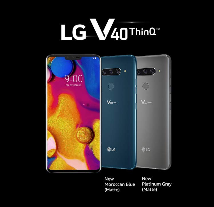LG V40 ThinQ with 6 4-inch QHD+ display, Snapdragon 845 SoC