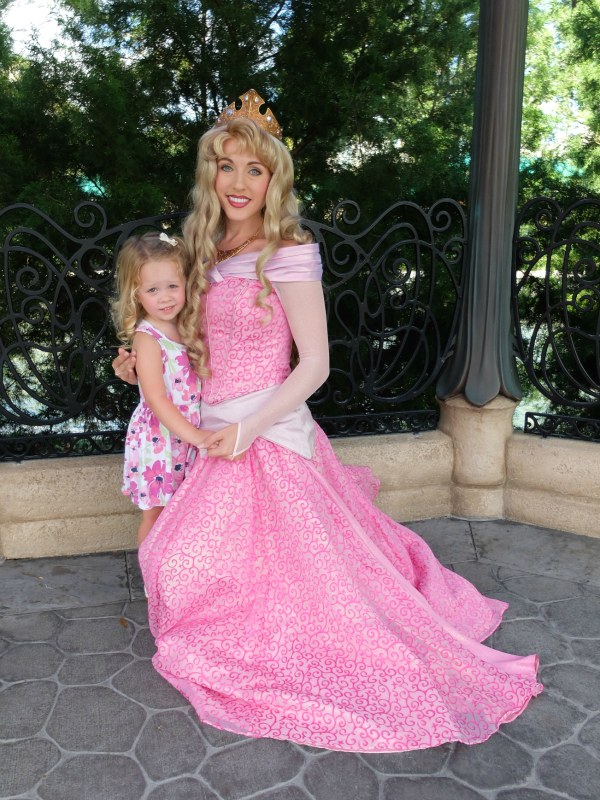 Walt Disney World's Epcot, France, Princess Aurora meet and greet
