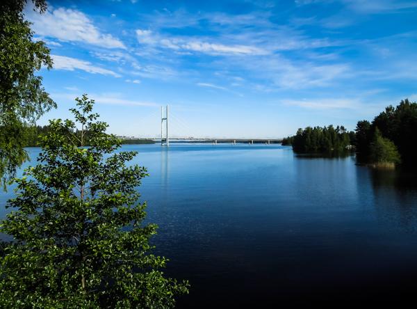 heinolan silta kylpylähotelli kumpeli maisema järvimaisema päijänne