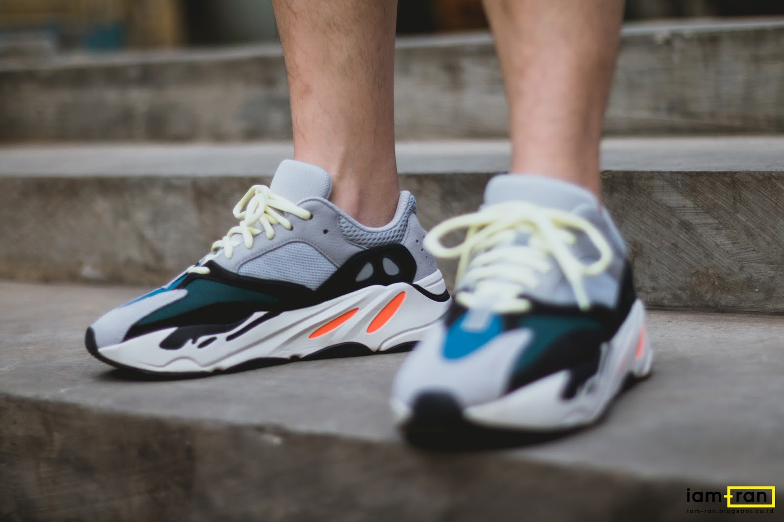 39ed4e907a2 Dimas indro on feet. Sneakers   Adidas Yeezy 700