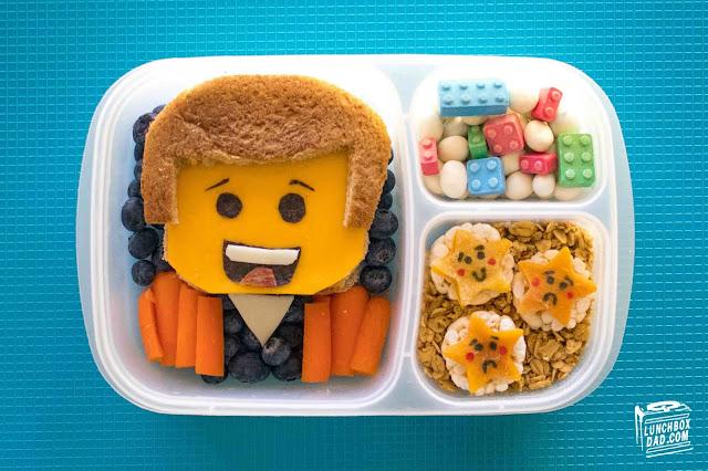 Fun The LEGO Movie 2 kids lunch ideas!