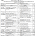 Datesheet BA BSc Annual Examination 2016 Punjab University