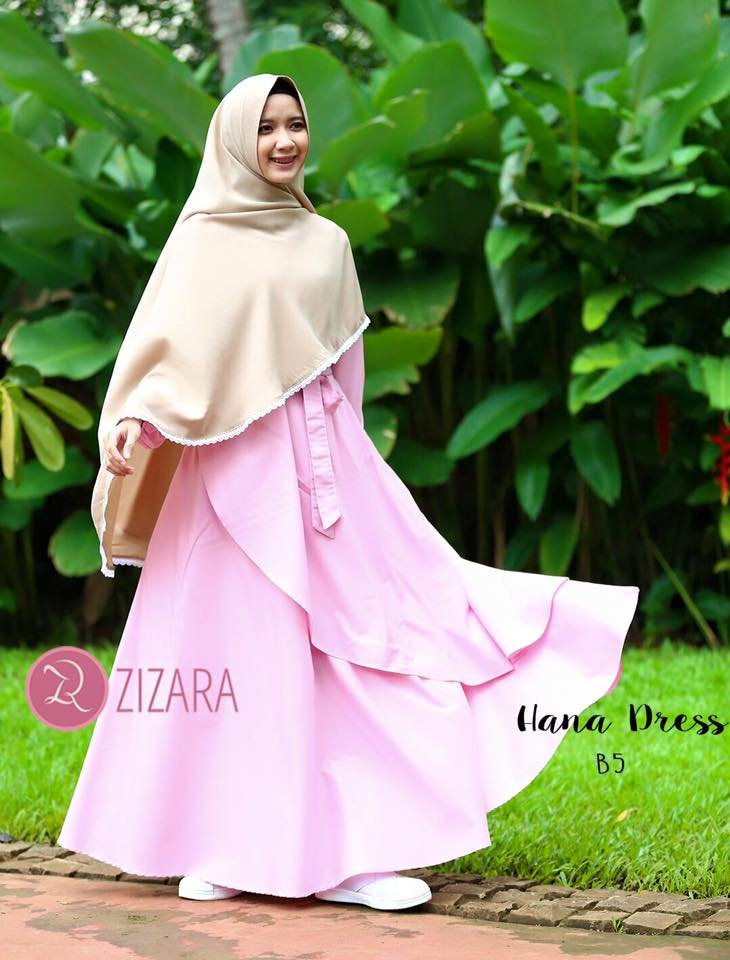 Gamis Zizara Hana Dress B5